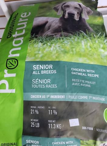 ProNature Senior All Breeds 11.3kg