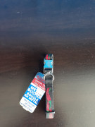 AK9 Metal Buckle Red Chilies Collar