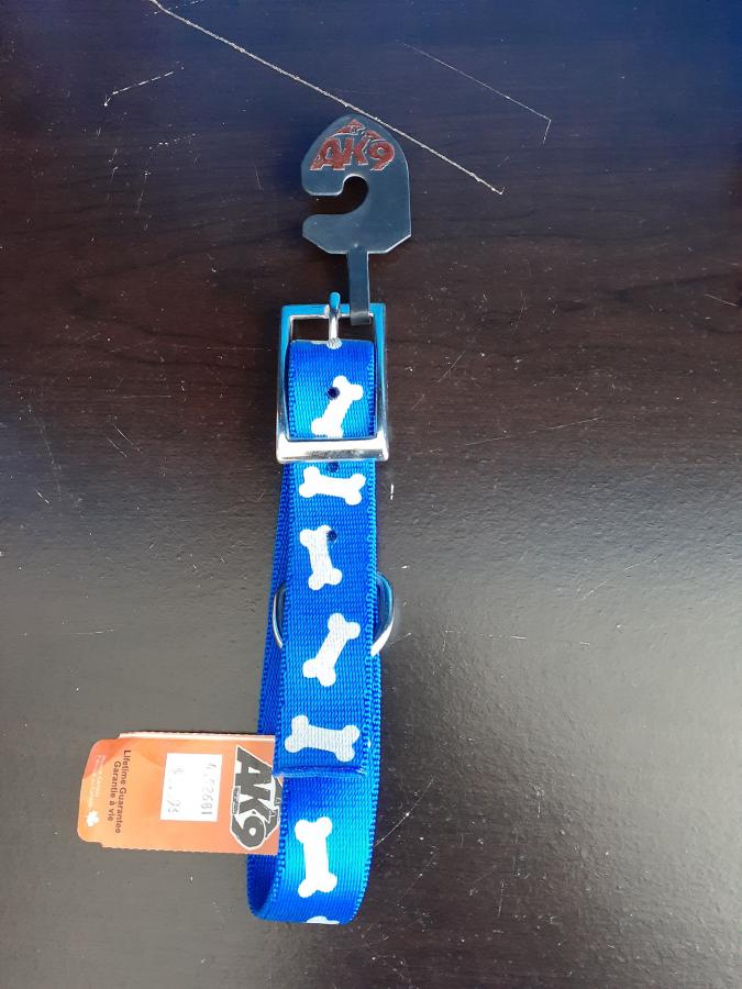 AK9 Blue Bones Collar 1