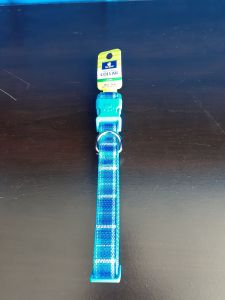 Top Paw Adj Blue Collar Large