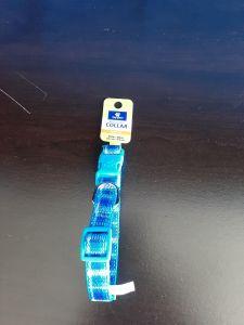 Top Paw Adj Blue Collar Med