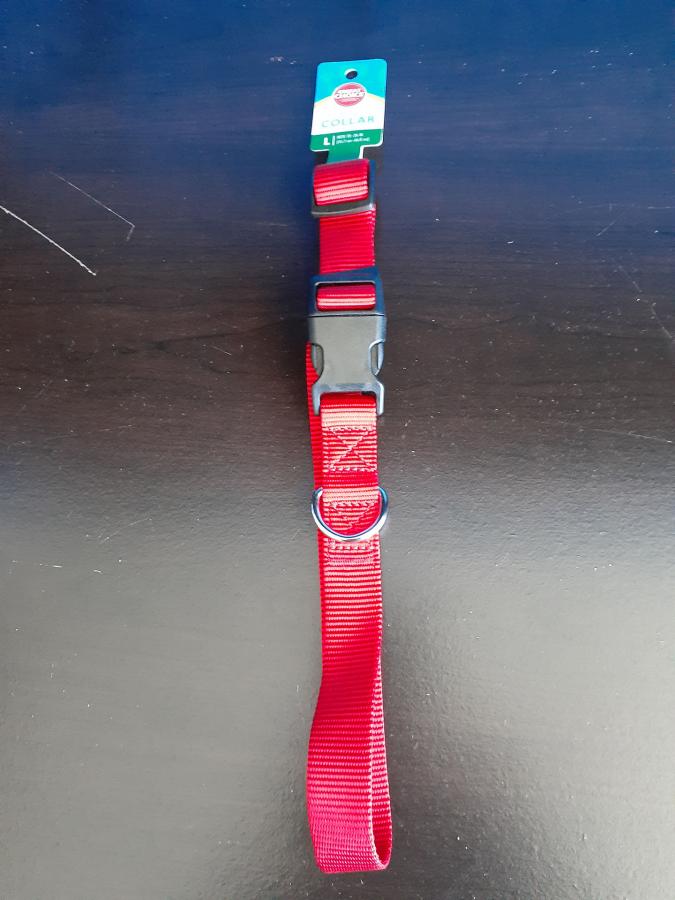 Grreat Choice Red Nylon Collar