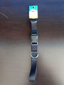 Grreat Choice Black Nylon Collar