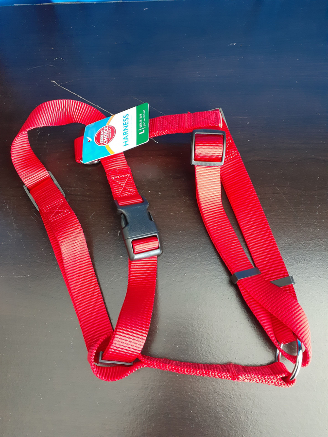 Grreat Choice Red Harness