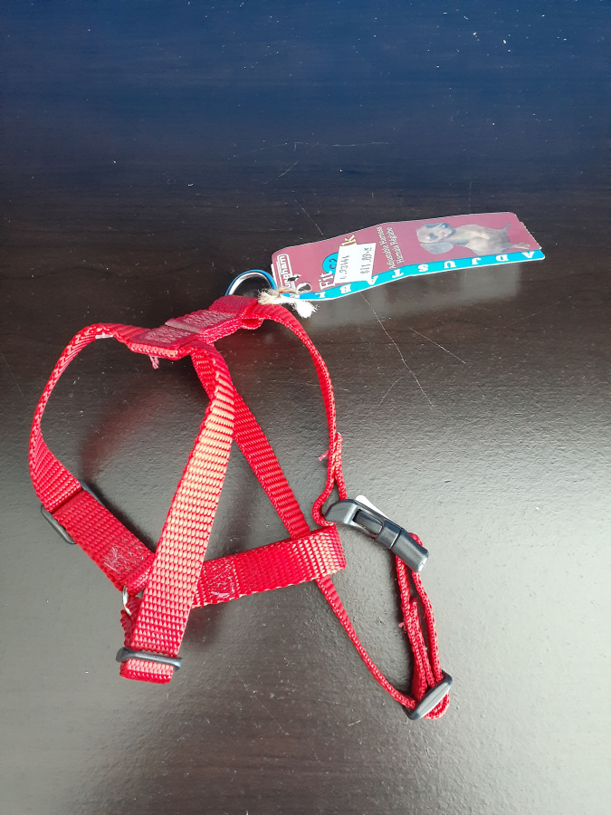 Burgham Fit & Click Red Harness
