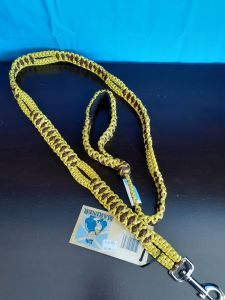 Mariner Leash Yellow/Brown