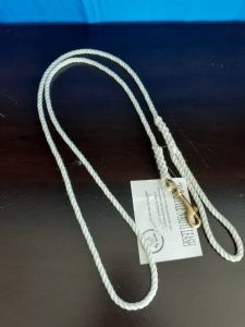 The Little Nauti Leash White