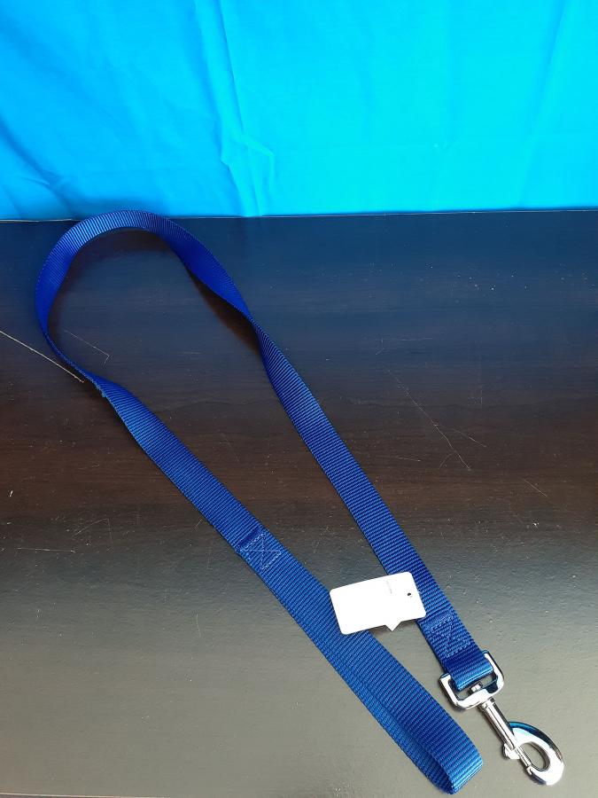 Grreat Choice Dark Blue Nylon Leash
