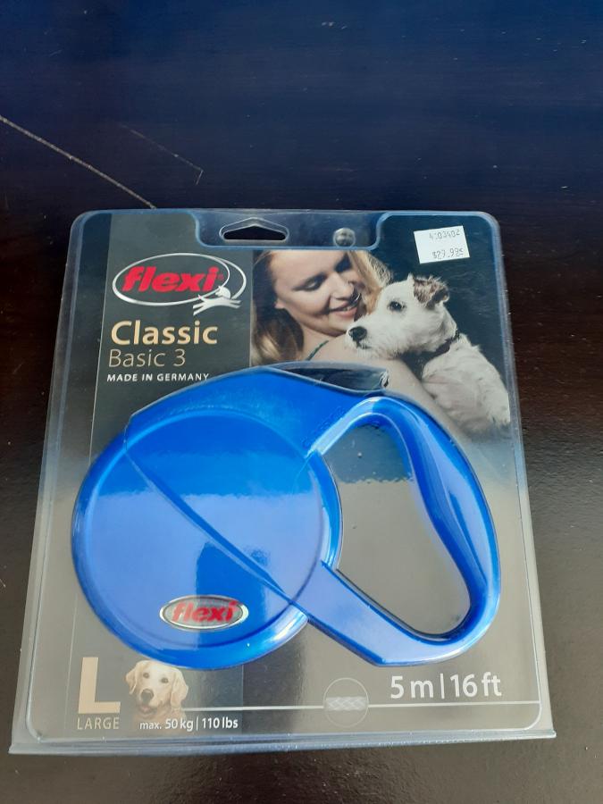 Flexi Classic Basic 1 Large Blue
