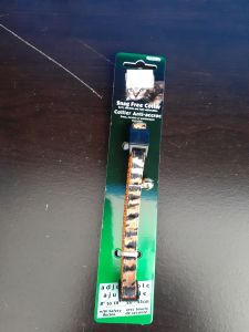 Burgham Snag Free Collar Tiger Stripes