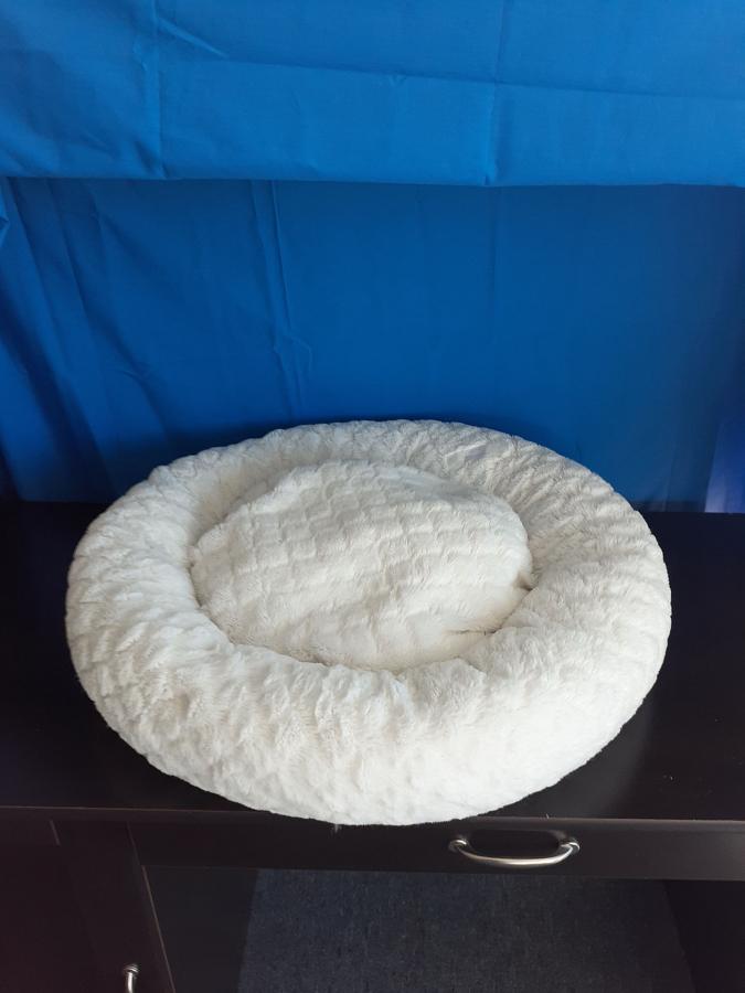 Donut Bed White