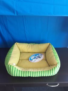 Cumfy-O Lime and Yellow Bed