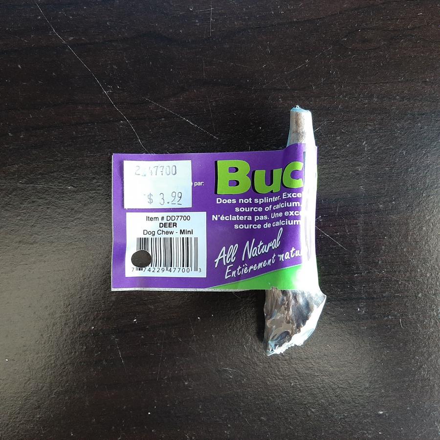 Bucksters Mini Deer Antler Chew