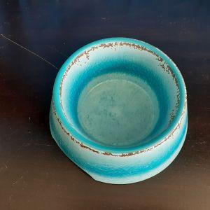 Large Antique Blue Bowl