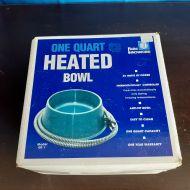 One Quart Heated Bowl