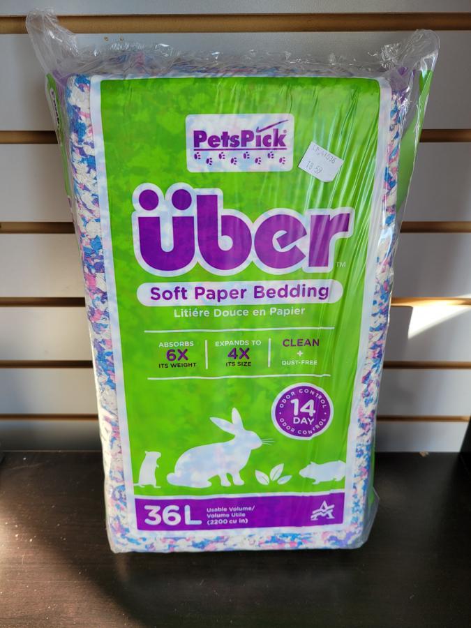 Uber Soft Paper Bedding 36L