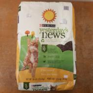 Yesterday's News 30lb Cat Litter