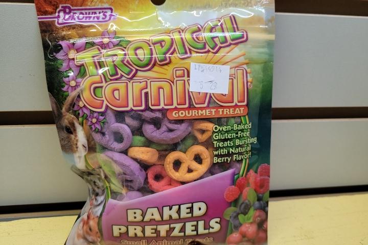 Pretzels Small Animal Treats 2oz