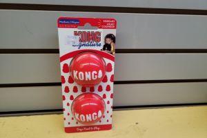 KONG Signature Balls 2/pk Med