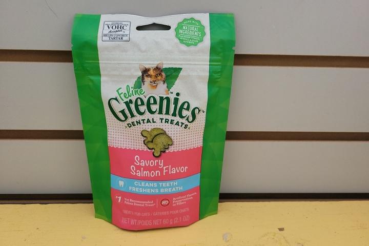 Feline Greenies Salmon 2.1oz
