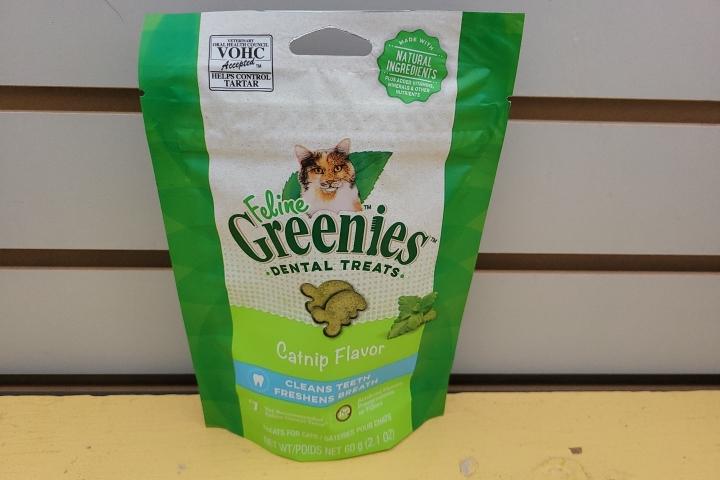 Feline Greenies Catnip 2.1oz