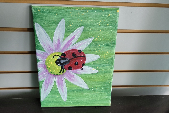 Mariah's Paintings Ladybug
